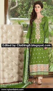 Rujhan Midsummer Range Embroidered 2015