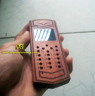 Vỏ gỗ điện thoại giá rẻ -  Rồng vertu