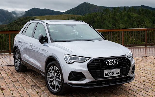 Novo Audi Q3 2020 (Brasil) - Prata