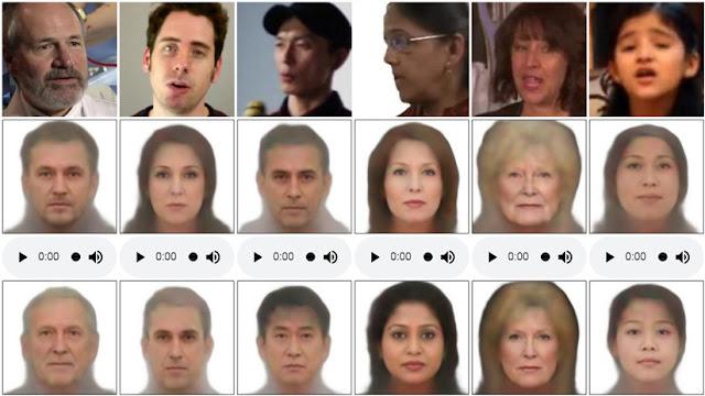 Crean un algoritmo que reproduce el rostro a través de un análisis de la voz