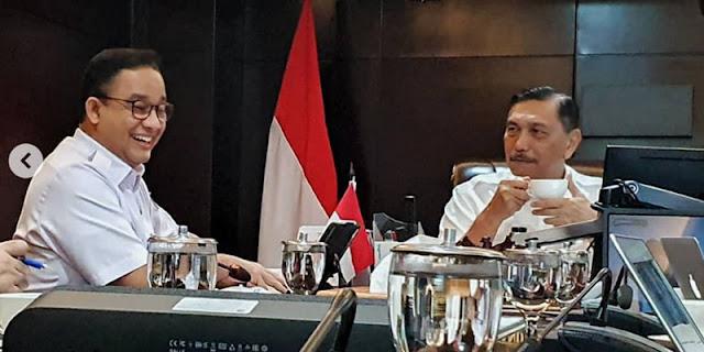 Kata Luhut, Anies Baswedan Minta Pusat Dukung DKI Dalam 3 Hal