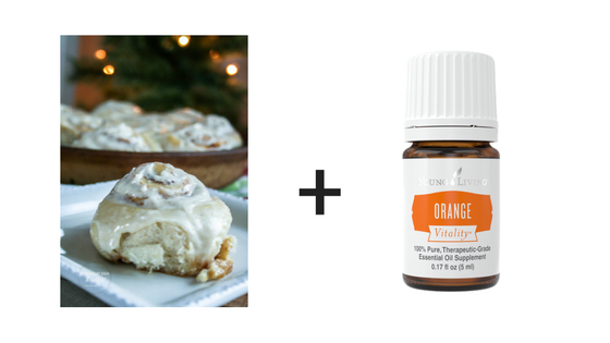 Roll with Orange Vitality Essential Oil