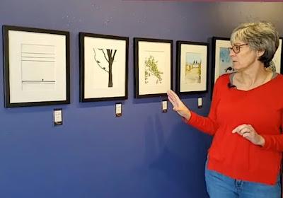 Sara Harley Artist Talk, Dart Gallery