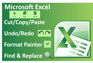 Cut/Copy/Paste, Format Painter, Undo/Redo, Find/Replace in MS-Excel Hindi Videos