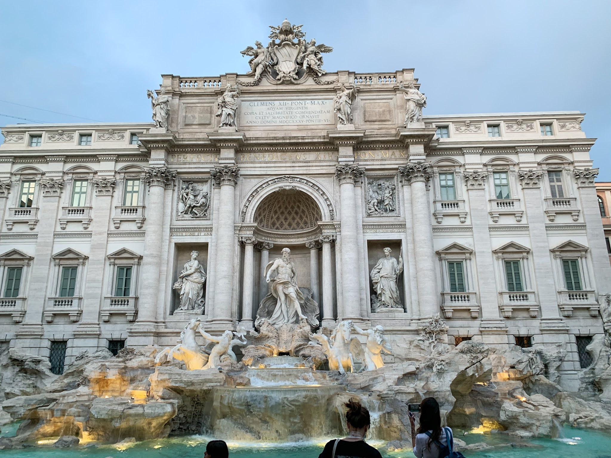 Trevi Fountain - The most beautiful fountain in Rome