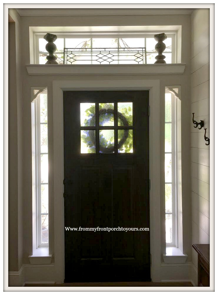 Creating Privacy For Front Door Windows