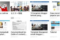 cara memasang iklan matched content adsense di blogger