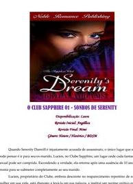 Brita Addams - Clube Sapphire I - SONHOS DE SERENITY