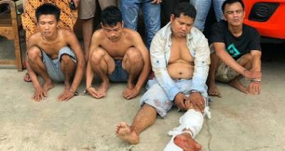 Rawan Pencurian, Polisi Amankan 4 Spesialis Pencuri Mobil 1 Tersangka Didor