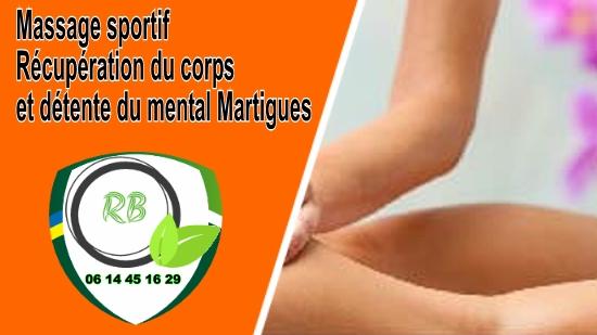 Massage sportif : Récupération du corps et détente du mental Martigues;