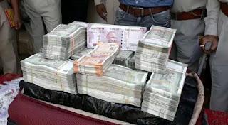 हवाला के 1.27 करोड रुपए और चांदी जप्त