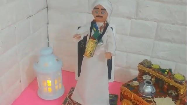 مسحراتى رمضان بالقماش الخياميه