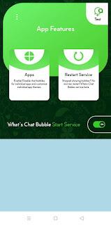 Cara membuat Bubble Chat Pada Whatsapp Seperti Messenger