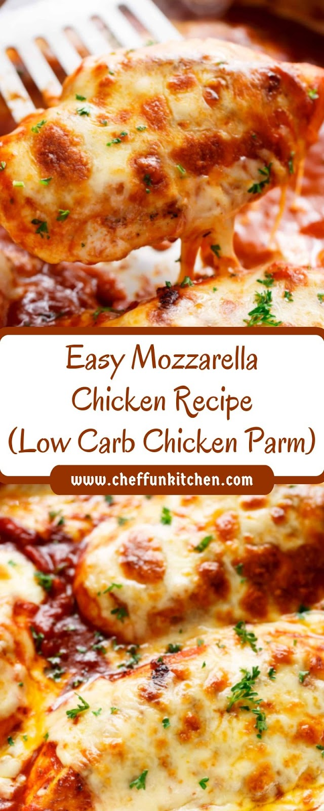 Easy Mozzarella Chicken Recipe (Low Carb Chicken Parm)
