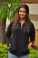 Actress Ritika Singh Stills at Guru Movie Success meet  0044.JPG