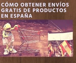 Chollo: obtener productos con envíos gratis en España