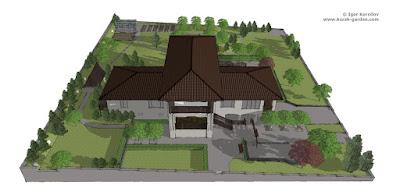 Ландшафтный проект, 3D визуализация, Курск