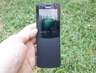 Nokia 8110 4G Pisang Reborn Support WA Original Normal Mulus
