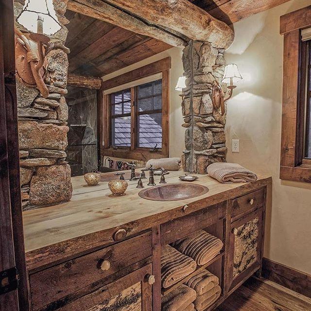 Rustic Bathroom Accessories