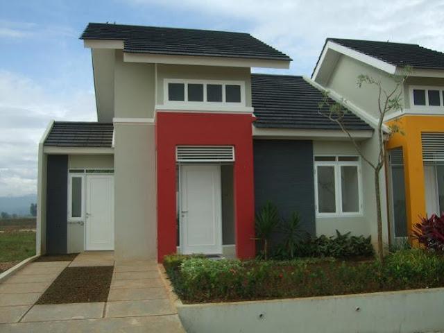 desain teras rumah type 36