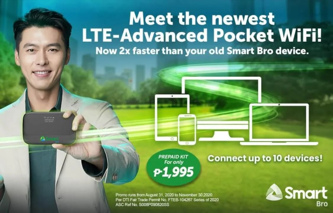 Smart Bro LTE-Advanced Pocket WiFi Now Available To Prepaid Subscribers; Yours for Only Php1,995