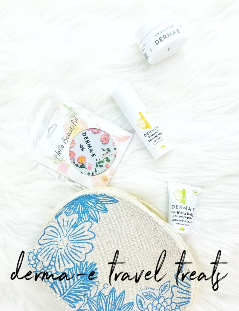 Derma-E  The Perfect Travel Kit | Affordable Travel Treats for Beautiful Skin on the Go