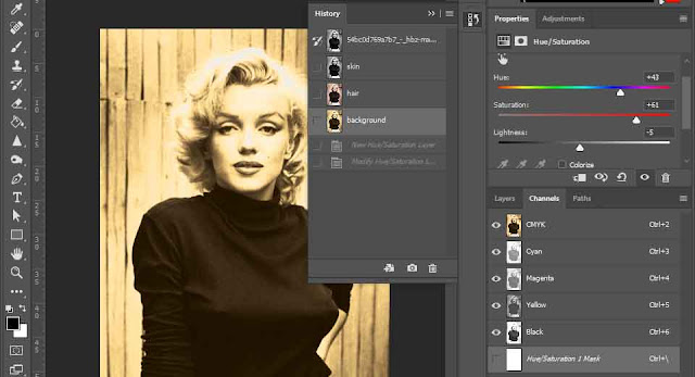 How To Colourise A Black and White Photo