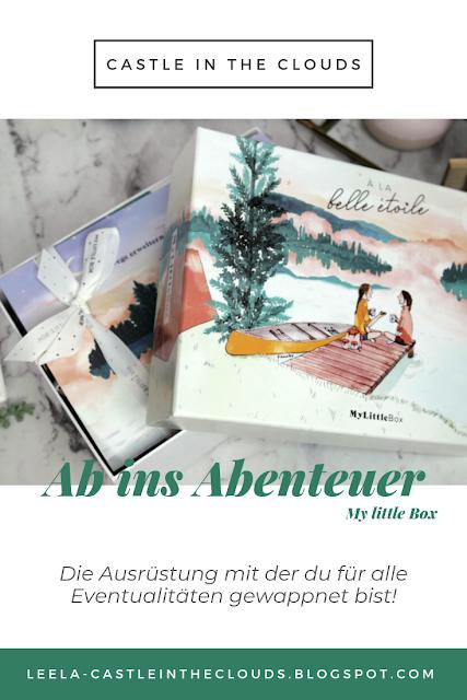 My little Box À la belle étoile - Ab ins Abenteuer August 2019 Pinterest