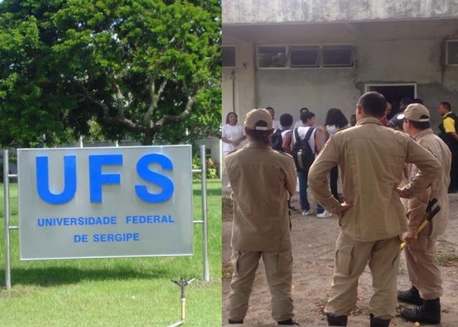 Incêndio atinge restaurante da Universidade Federal de Sergipe
