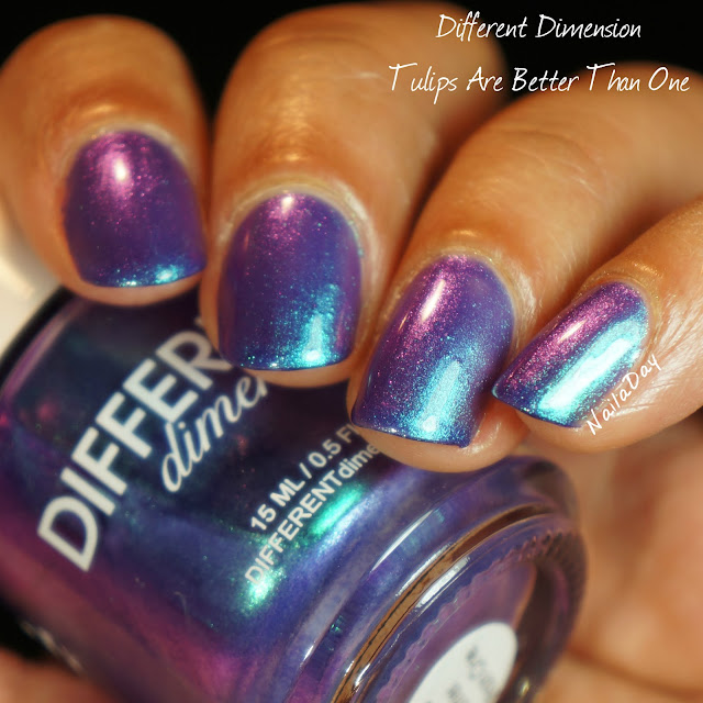 NailaDay: Different Dimension Tulips Are Better Than One