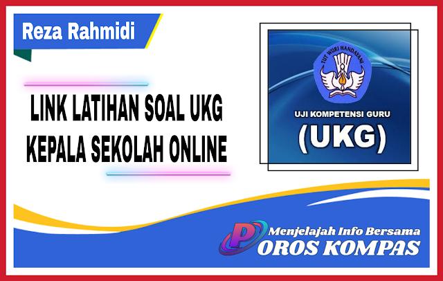 Link Latihan Soal UKG Kepala Sekolah Terbaru