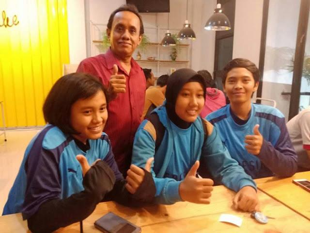 gresik - Ketua Tim Gresik Putri FC Pertanyakan Nasib Jika Dimatikan