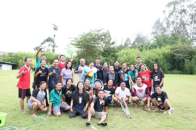 """Team building Panitia SOMA 2 KAS """"Bersama kita bisa, bersama kita kuat"""""""