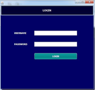 Aplikasi Login Sederhana Menggunakan Netbeans