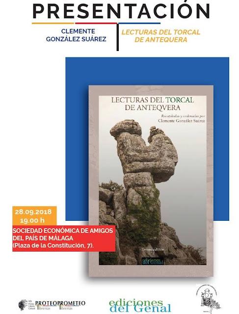 """Presentación del Libro """"Lecturas del Torcal de Antequera"""""""