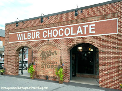 Wilbur Chocolate Store in Lititz Pennsylvania