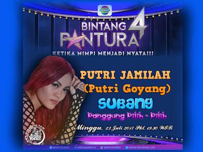 PUTRI JAMILAH (Putri Goyang) Perwakilan Subang Bintang Pantura 4 Indosiar