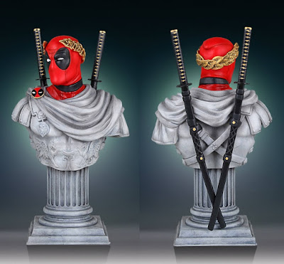 Caesar Deadpool Classic Marvel Mini Bust by Gentle Giant