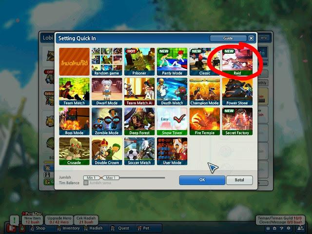 Boss Raid Mode Lost Saga Indonesia
