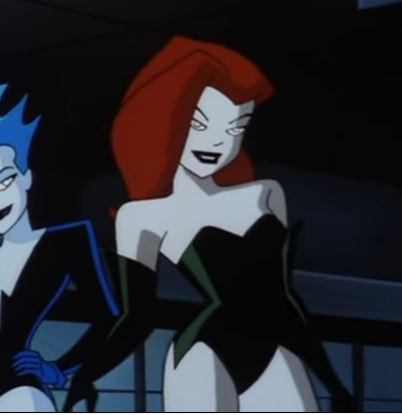 Poison Ivy Batman Cartoon