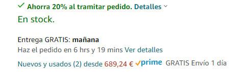 Nota Productos Reacondicionados San Valentín Amazon