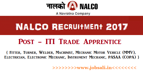 national aluminium company limited careers, 10th pass job 2017, iti govt jobs