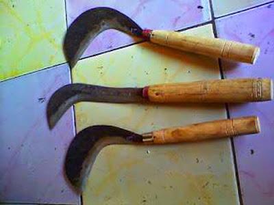 Gambar Kedik Senjata Tradisional Bangka Belitung