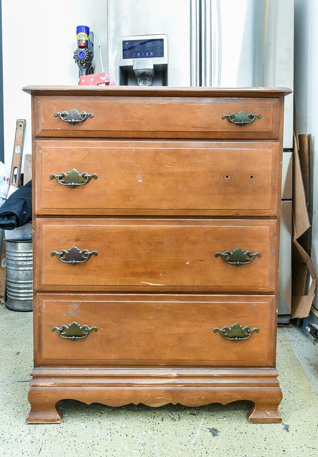 Dated 80's dresser before