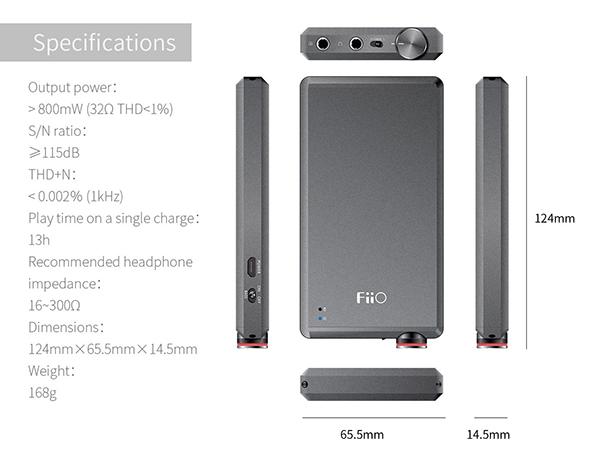 fiio-a5-amplifier-specs
