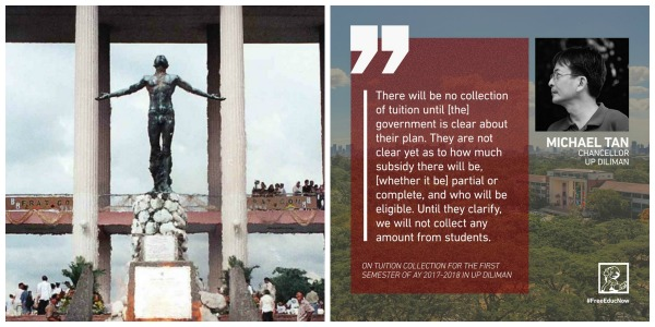 UP Diliman will not collect tuition for AY 2017-2018