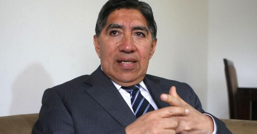 JNJ: Postulantes a la Junta Nacional de Justicia deben tener conducta irreprochable, sostiene ex fiscal supremo Avelino Guillén