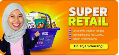 Sembako murah Surabaya, agen bohay, super bohay, Aplikasi super