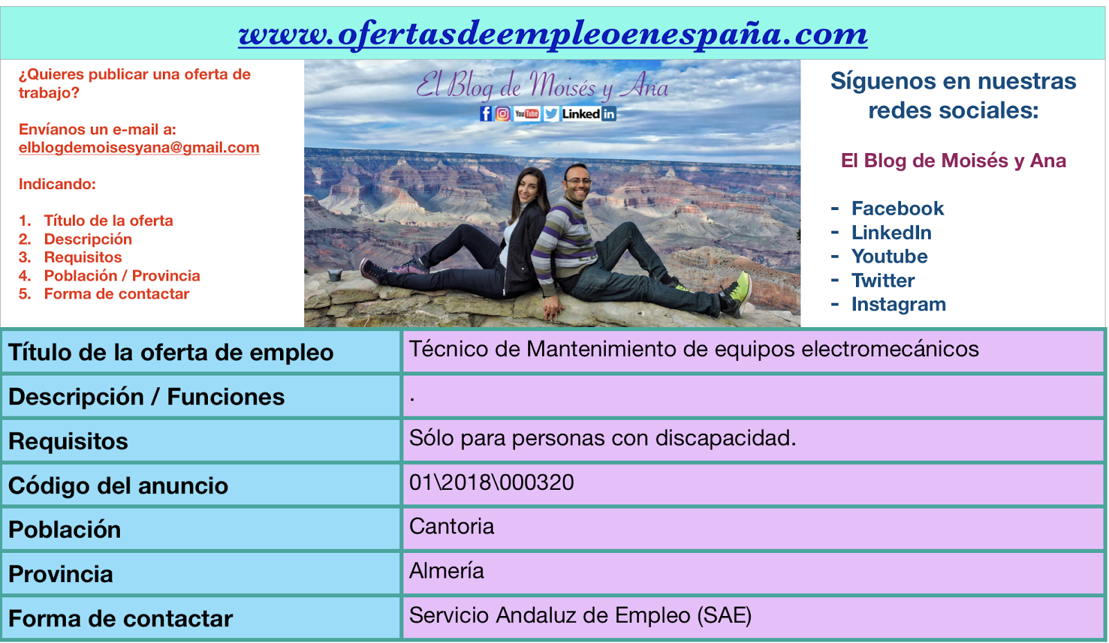 Ofertas de Empleo en España: Técnico de Mantenimiento de ... - photo#9
