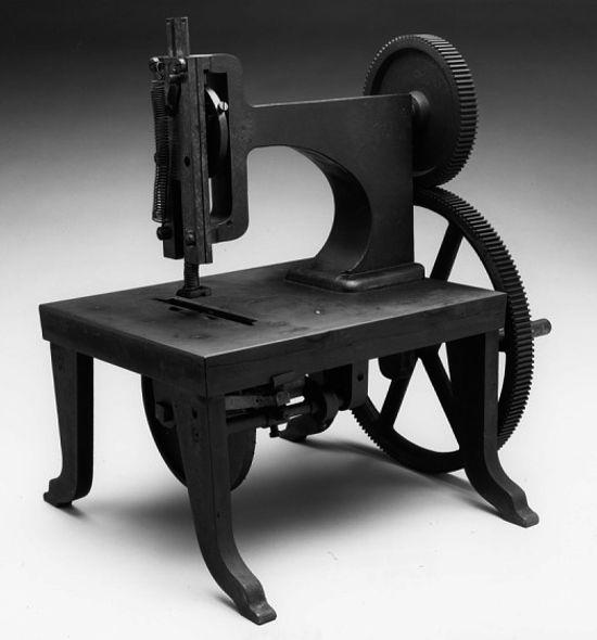 Singer sewing machines prototype 1850